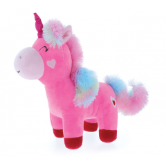 DiBella Flowers & Gifts Las Vegas - PINK UNICORN WITH RAINBOW MANE/TAIL SO CUTE!!