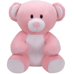 DiBella Flowers & Gifts Las Vegas - This Pink bear is the perfect size and softness to hug and snuggle with! Available in three sizes.