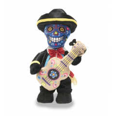 "DiBella Flowers & Gifts Las Vegas - 12"" Mariachi Skeleton dances to ""Chumbala Cachumbala""  https://youtu.be/RWBR_QeylQs"