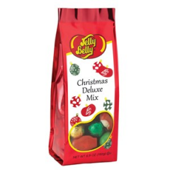 DiBella Flowers & Gifts Las Vegas - Christmas Deluxe Mix from Jelly Belly. Assorted candy like chocolates, mellocremes, jelly beans and more in holiday colors! 6.8 oz