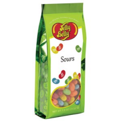 DiBella Flowers & Gifts Las Vegas - Jelly Belly Sours jelly beans in a 7.5 oz gift bag. 5 assorted fruit flavors. Perfect present for sour candy lovers.