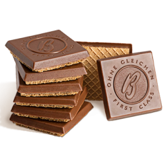 DiBella Flowers & Gifts Las Vegas - HAZELNUT WAFERS COVERED IN MILK CHOCOLATE An airy wafer encloses a luscious praline, made of fine, Levant-quality hazelnuts, topped with rich, European chocolate.