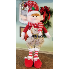 DiBella Flowers & Gifts Las Vegas - Elf Boy Figurine - Adorable holiday decor addition. Comes in 4 styles!