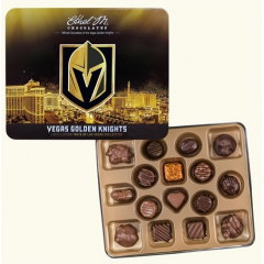 DiBella Flowers & Gifts Las Vegas - The sweetest collectible gift in Las Vegas. Collect this official Vegas Golden Knights Tin, filled with 16 of our most premium, locally made chocolates. Limited quantity available. Get them while you can.
