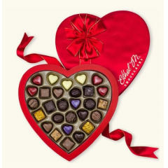 DiBella Flowers & Gifts Las Vegas - This 28-piece premium chocolate gift collection was created for your better half this Valentine's Day - the person who is by your side through thick and thin - filled with classic and seasonal favorites including lemon and peanut butter hearts!  ** Shop favorite!