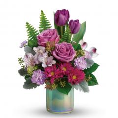 DiBella Flowers & Gifts Las Vegas - Art Glass Garden Bouquet