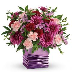 DiBella Flowers & Gifts Las Vegas - Liquid Lavender Bouquet