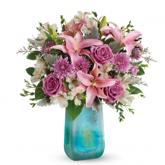 DiBella Flowers & Gifts Las Vegas - Art Glass Treasure Bouquet