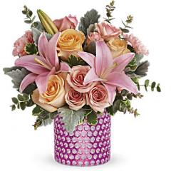 DiBella Flowers & Gifts Las Vegas - Pink Breeze Bouquet