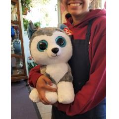 DiBella Flowers & Gifts Las Vegas - Giant Husky Beanie Boo Super cute and huggable *Limited quantities