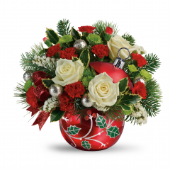 DiBella Flowers & Gifts Las Vegas - Classic Holly Ornament