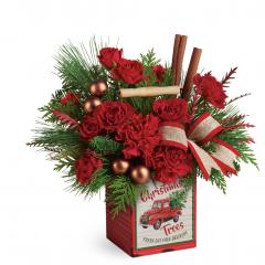 DiBella Flowers & Gifts Las Vegas - Merry Vintage Christmas