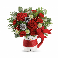DiBella Flowers & Gifts Las Vegas - Send a Hug Snowman Mug