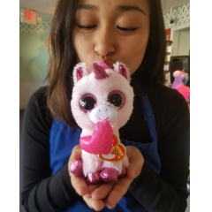 DiBella Flowers & Gifts Las Vegas - Valentine the Unicorn Beanie Boo