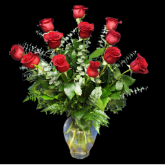 DiBella Flowers & Gifts Las Vegas - Classic Valentine Dozen The perfect dozen! 12 of our premium roses. Please specify color - Red will be sent if no color is chosen Pricing Good 2/1/20- 2/14/20
