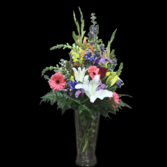 DiBella Flowers & Gifts Las Vegas - Just Because Bouquet! I love you! I hope you are feeling better! Thank You! This bouquet is perfect for any occasion. Send this bright mix of Fragrant Lilies, Brilliant Gerbera Daisies, Sunny Snapdragons and more!