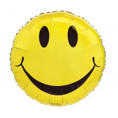 DiBella Flowers & Gifts Las Vegas - YELLOW SMILEY FACE MYLAR