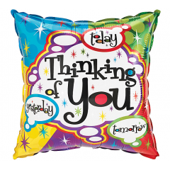 DiBella Flowers & Gifts Las Vegas - THINKING OF YOU BUBBLES MYLAR