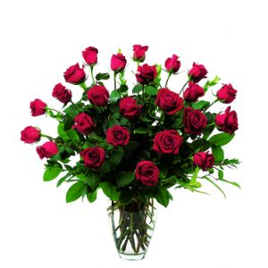 DiBella Flowers & Gifts Las Vegas - Two dozen long stemmed premium red roses. * Valentines pricing may vary