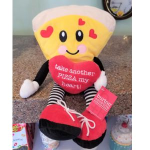 "DiBella Flowers & Gifts Las Vegas - Pizza Guy Plush Go ahead ""Take Another Pizza My Heart"" now baaaabaaay!"