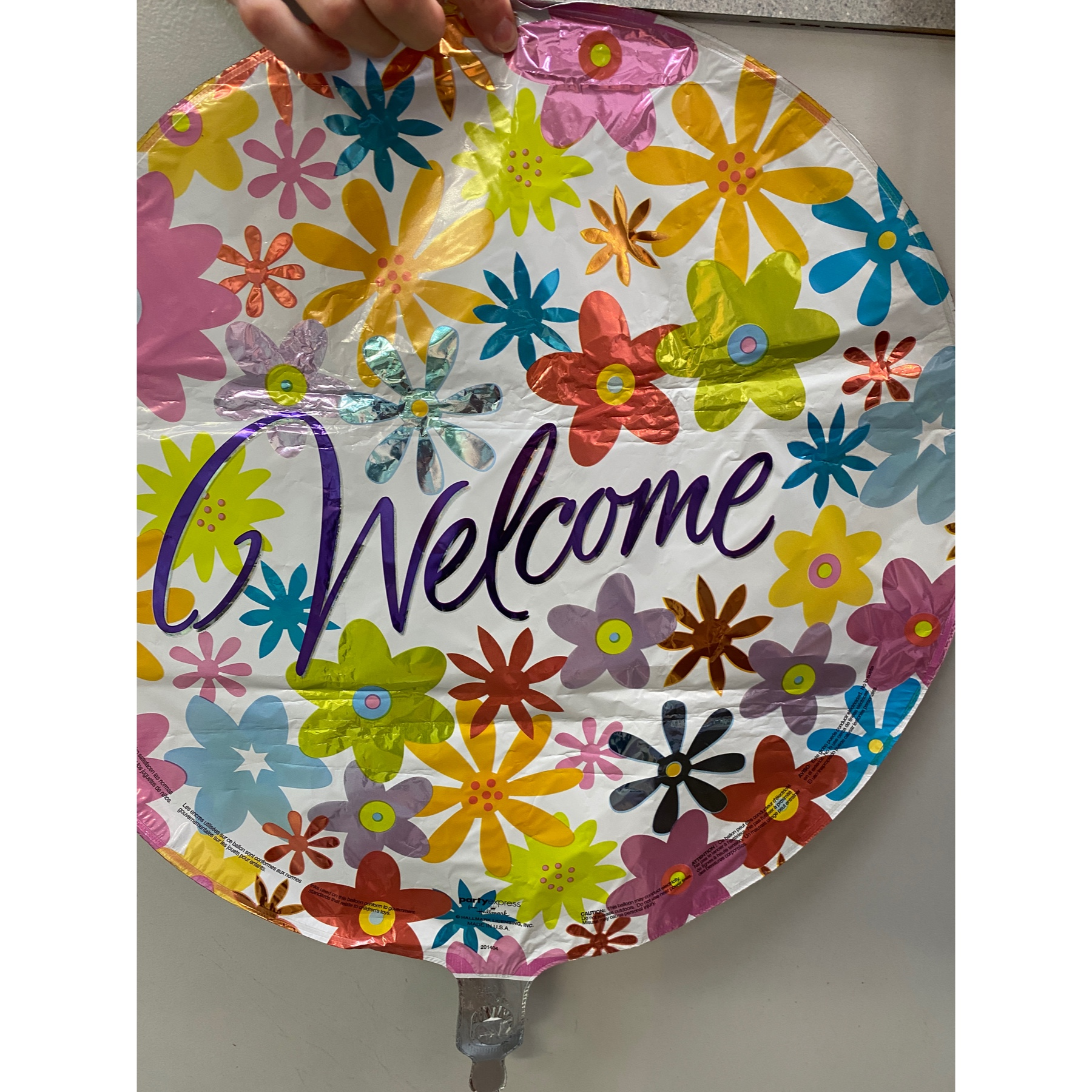 DiBella Flowers & Gifts Las Vegas - Flower Mylar welcome perfect for all occasions