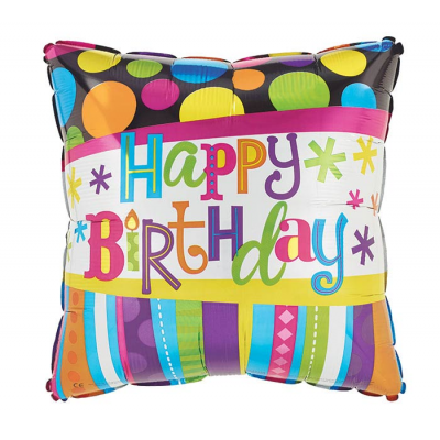 DiBella Flowers & Gifts Las Vegas - BIRTHDAY STRIPES AND DOTS