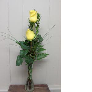 DiBella Flowers & Gifts Las Vegas - Double Rose Budvase