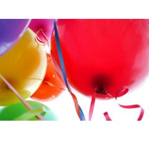 DiBella Flowers & Gifts Las Vegas - 16'' Latex Balloons ** Iclude one balloon- PLEASE PICK YOUR COLOR Available in several colors! Please specify. *** Latex balloons are guaranteed for 24 hours.  They will go down after a short time as do all helium filled latex balloons. ***