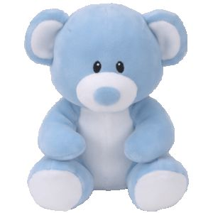 DiBella Flowers & Gifts Las Vegas - Lullaby Blue Bear available in three sizes! Super soft and squeezable from Ty.