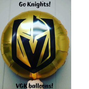 DiBella Flowers & Gifts Las Vegas - Show some VGK pride! Golden knights balloons available while they last.  Go Knights!!! LIMIT 3!