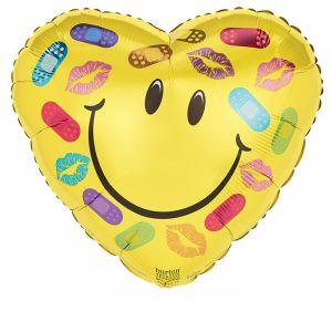 "DiBella Flowers & Gifts Las Vegas - 17""PKG GET WELL SOON BANDAGES AND KISSES HEART"