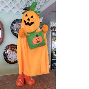 DiBella Flowers & Gifts Las Vegas - Orange trick or treat ghost!