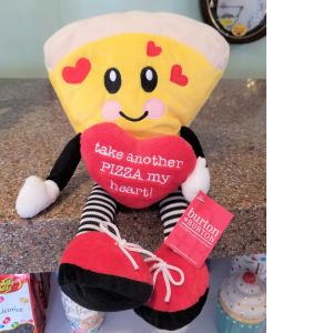"DiBella Flowers & Gifts Las Vegas - Pizza Guy Plush Go ahead ""Take Another Pizza My Heart"" now baaaabaaay!"