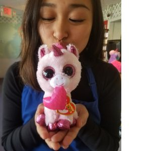 DiBella Flowers & Gifts Las Vegas - Valentine the Unicorn Beanie Boo