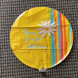 DiBella Flowers & Gifts Las Vegas - Thanks for a job well done balloon