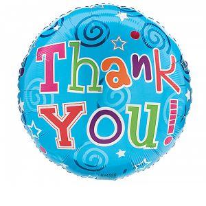 DiBella Flowers & Gifts Las Vegas - THANK YOU ON BLUE BALLOON