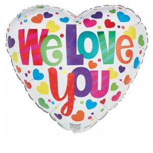 DiBella Flowers & Gifts Las Vegas - WE LOVE YOU MYLAR.. WE ALL DO
