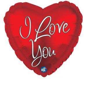 DiBella Flowers & Gifts Las Vegas - CLASSIC I LOVE YOU MYLAR. I FEEL THE LOVE...