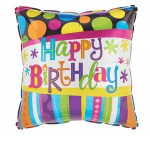 BIRTHDAY STRIPES AND DOTS Addon