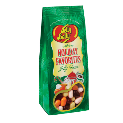 DiBella Flowers & Gifts Las Vegas - Jelly Belly Holiday Favorites Jelly Bean 7.5 oz Gift Bag