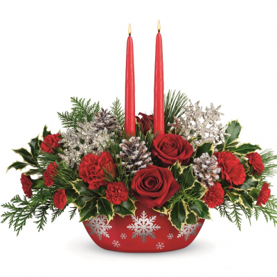 DiBella Flowers & Gifts Las Vegas - Winter's Eve Centerpiece