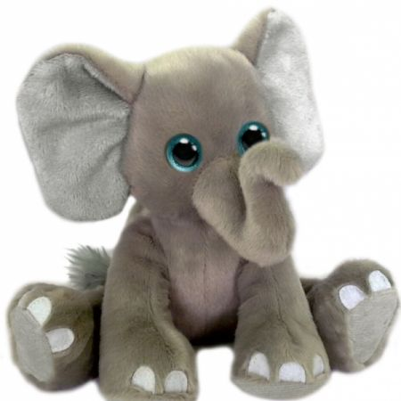 Floppy Friends Eli Elephant, 7.5 in. Addon