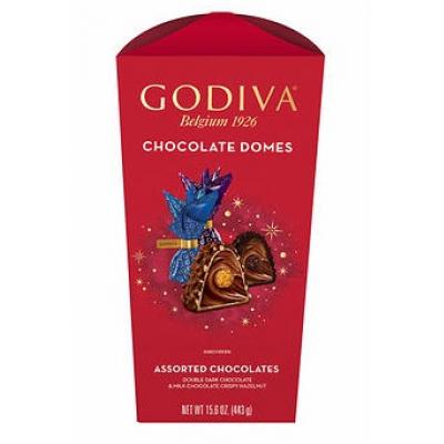Godiva Chocolate Domes Large 15.06oz Addon