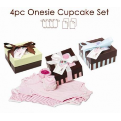 Baby Cakes 4pc set.  Let us know which color set you prefer in the special instructions!