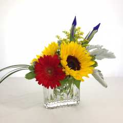 """Start the year off with some beautiful flowers for your teacher!  Approx. 10""""H x 10""""W"""