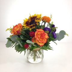 Boss's Day is Monday, October 16th.  Say thank you to your boss for being kind and fair throughout the year with a beautiful arrangement!