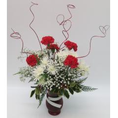 KW-1215 Seasons Vase - As Shown