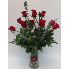 Dozen Red Roses - Standard