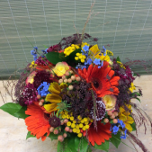 CUSTOM BRIDAL BOUQUET-J