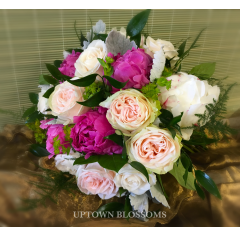 CUSTOM BRIDAL BOUQUET-K - As Shown